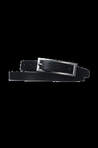 Women's Leather Belt - black