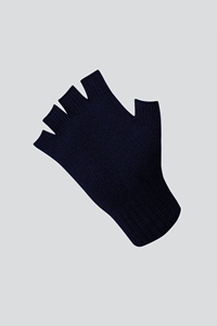Unisex Fingerless Glove - navy
