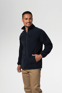 Men's Fleece Jacket - navy