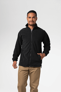 Men's Fleece Jacket - black