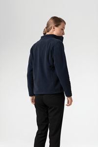 Women's Fleece Jacket - navy