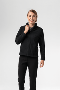 Women's Fleece Jacket - black