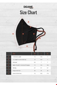 Reusable Face Mask (10 Pack - black
