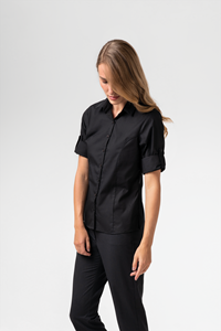 Alice Women's 3/4 Sleeve Blouse - black