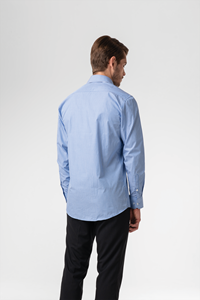 Kensington Men's Shirt - blue/white
