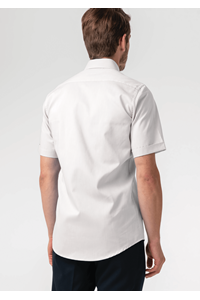 Oxford Men's S/S Shirt - white
