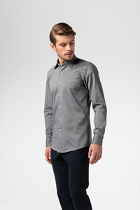 Oxford Men's Shirt - silver grey