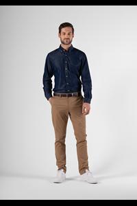 Soren Men's Denim Shirt - indigo
