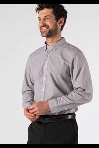 Richmond Men's Shirt - charcoal/white