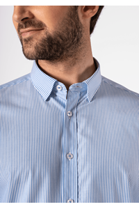 Richmond Men's Shirt - mid blue/white