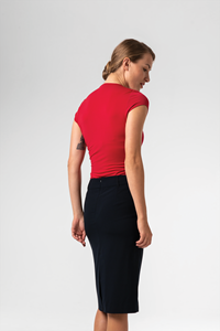 Brighton Women's S/S Top - red