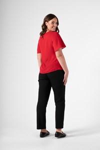 Monaco Women's Bell Sleeve Top - scarlet