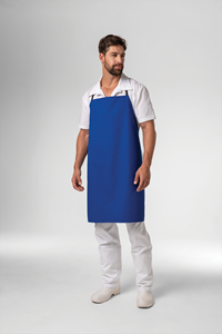 Deane Bib Apron - royal