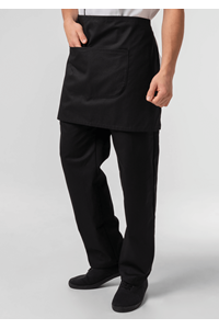 Deane Short Apron - black
