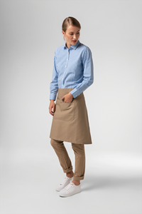 Adaptable Bib Apron - latte