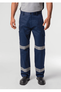 Stability Men's Cargo Pant With Tape - navy
