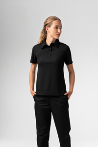 Deane Women's S/S Polo - black