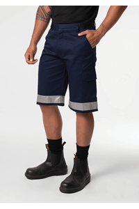 Stability Men's Cargo Short With Tape - navy