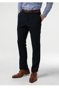 Marco Men's Twin Pleat Trouser - navy