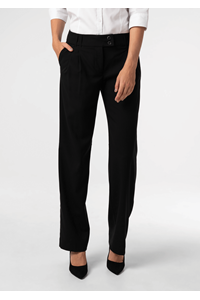 Grace Women's Twin Pleat Trouser - black
