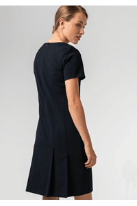 Greta Women's S/S Dress - navy