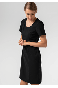 Greta Women's S/S Dress - black