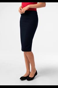 Julia Women's Straight Skirt - navy