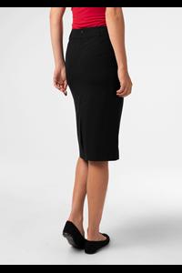 Julia Women's Straight Skirt - black