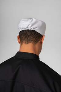 Food Skull Cap - white