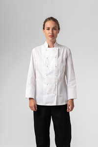 Chef Women's Classic Jacket - white