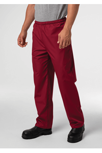 Food Unisex Pant With Pockets - burgundy