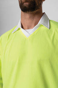 Food Hi Vis Day Top - white/yellow