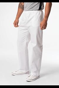 Unisex Food Pant With Internal Pocket - white
