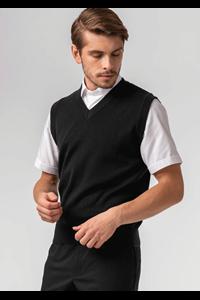 Deane Unisex V-neck Vest - black