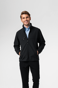 Deane Men's Softshell Jacket - black
