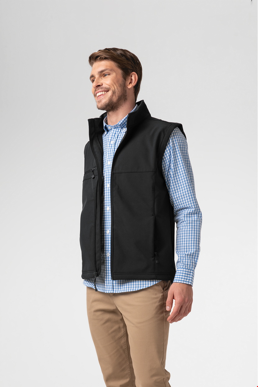 Deane Men's Softshell Vest