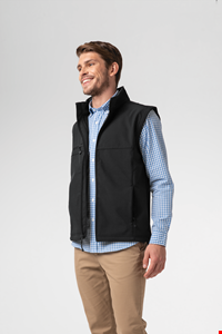 Deane Men's Softshell Vest - black
