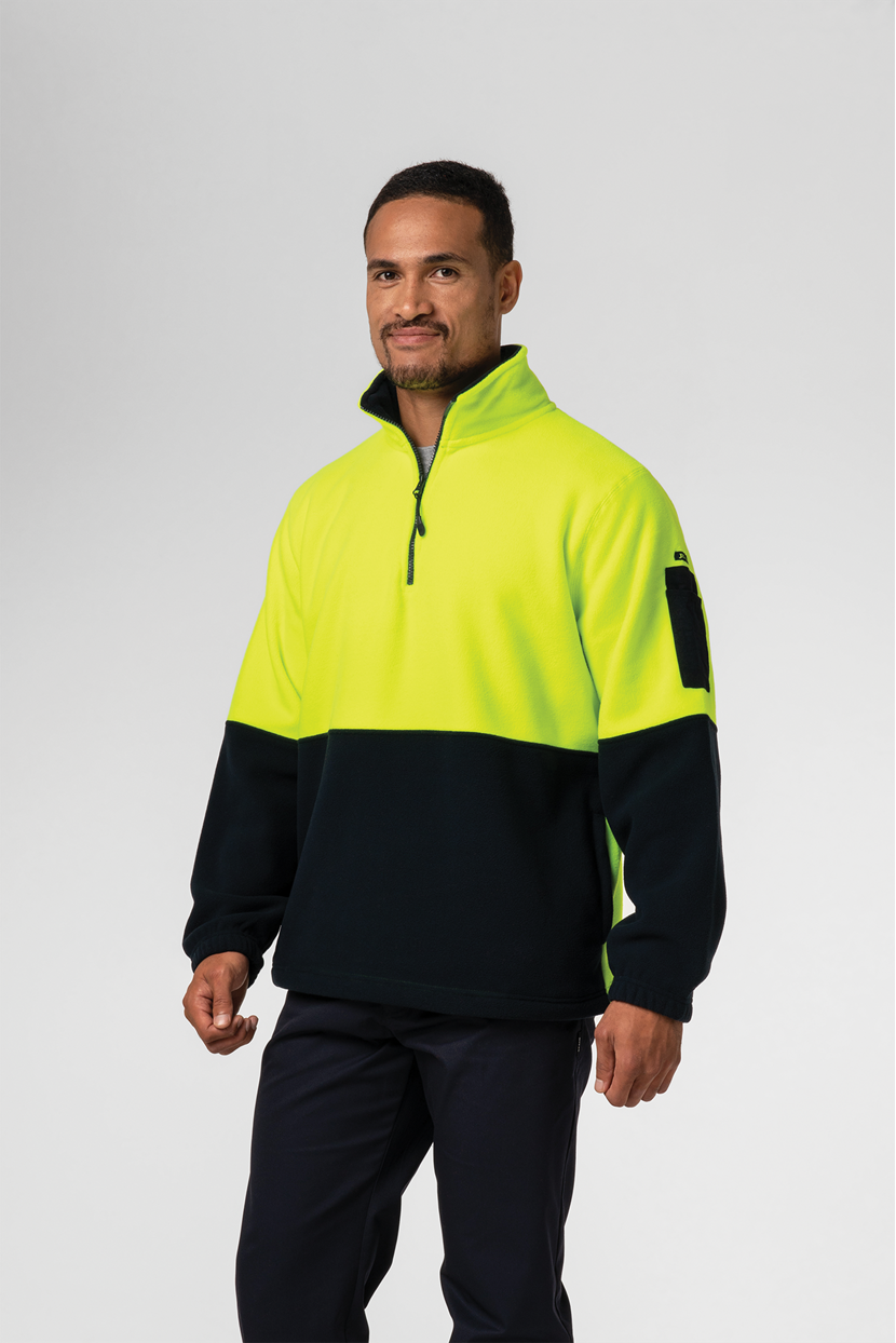 Hi Vis Day Fleece Top
