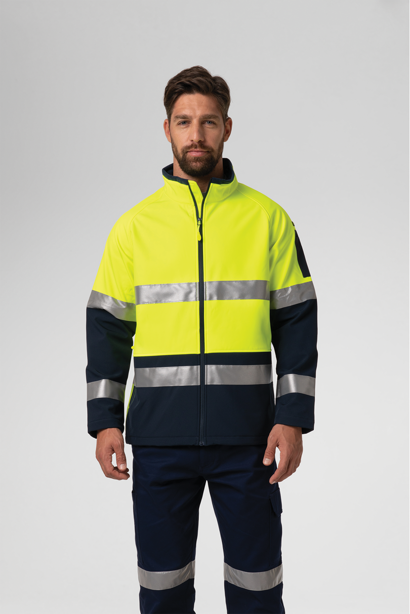 Hi Vis Day/Night Softshell Jacket