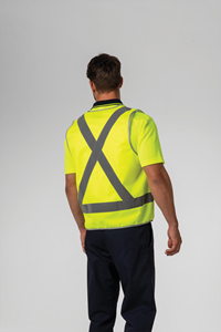 Hi Vis Day/Night Vest - compliant yellow