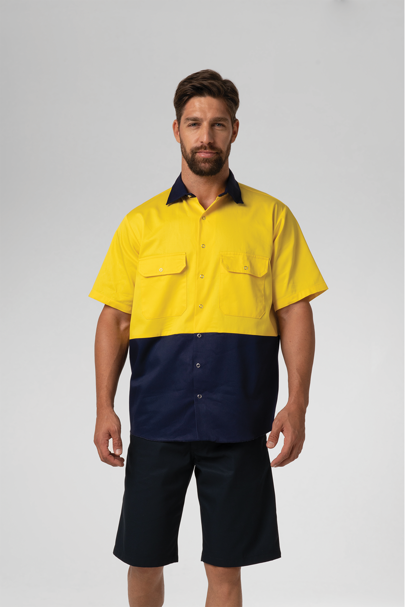 Hi Vis Day Domed Work Shirt