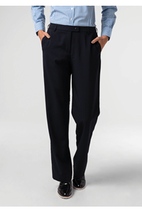 Soft Suiting Women's Trouser - navy
