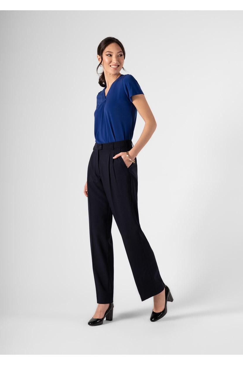 Soft Suiting Women's Twin Pleat Trouser
