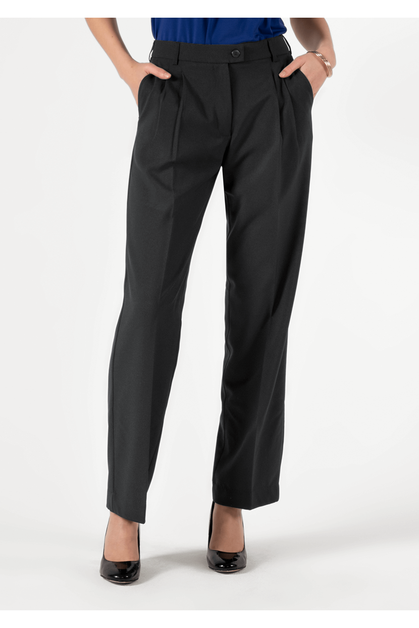 Soft Suiting Women's Twin Pleat Trouser