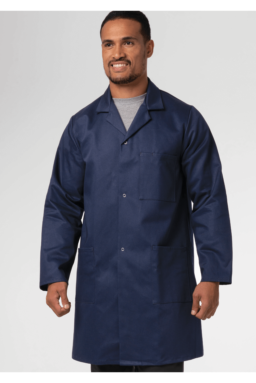 Deane Dustcoat With Pockets - Cotton