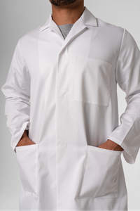 Deane Dustcoat With Pockets  - white