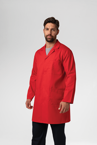 Deane Dustcoat With Pockets - red