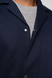 Deane Dustcoat With Pockets  - navy