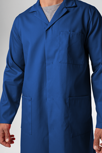 Deane Dustcoat With Pockets  - royal