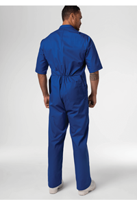 Classic Deane S/S Zip Overall - royal